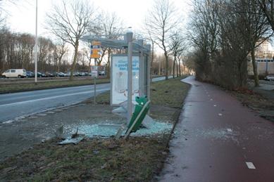 Vuurwerk vandalisme in Rotterdam