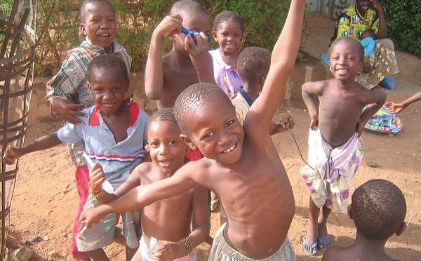 Kids in Bamako, Mali