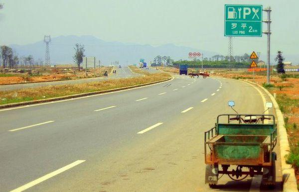 Hitchhiking in China
