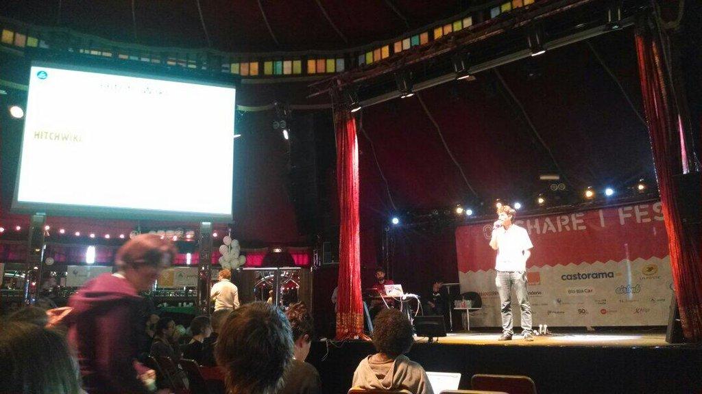 Hitchwiki at Ouisharefest Paris 2014